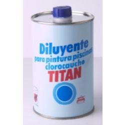 DISOLVENTE PISCINAS TITAN 1 LT   R-083
