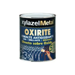 OXIRITE LISO GRIS PLATA 750 CC